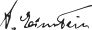 Einstein Signature